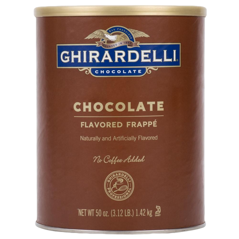 Ghirardelli Chocolate Frappé