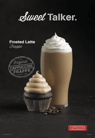 Cappuccine Frosted Latte Mix