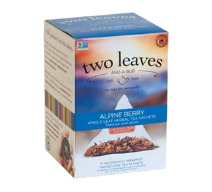 Two Leaves Alpine Berry Tea Sachets