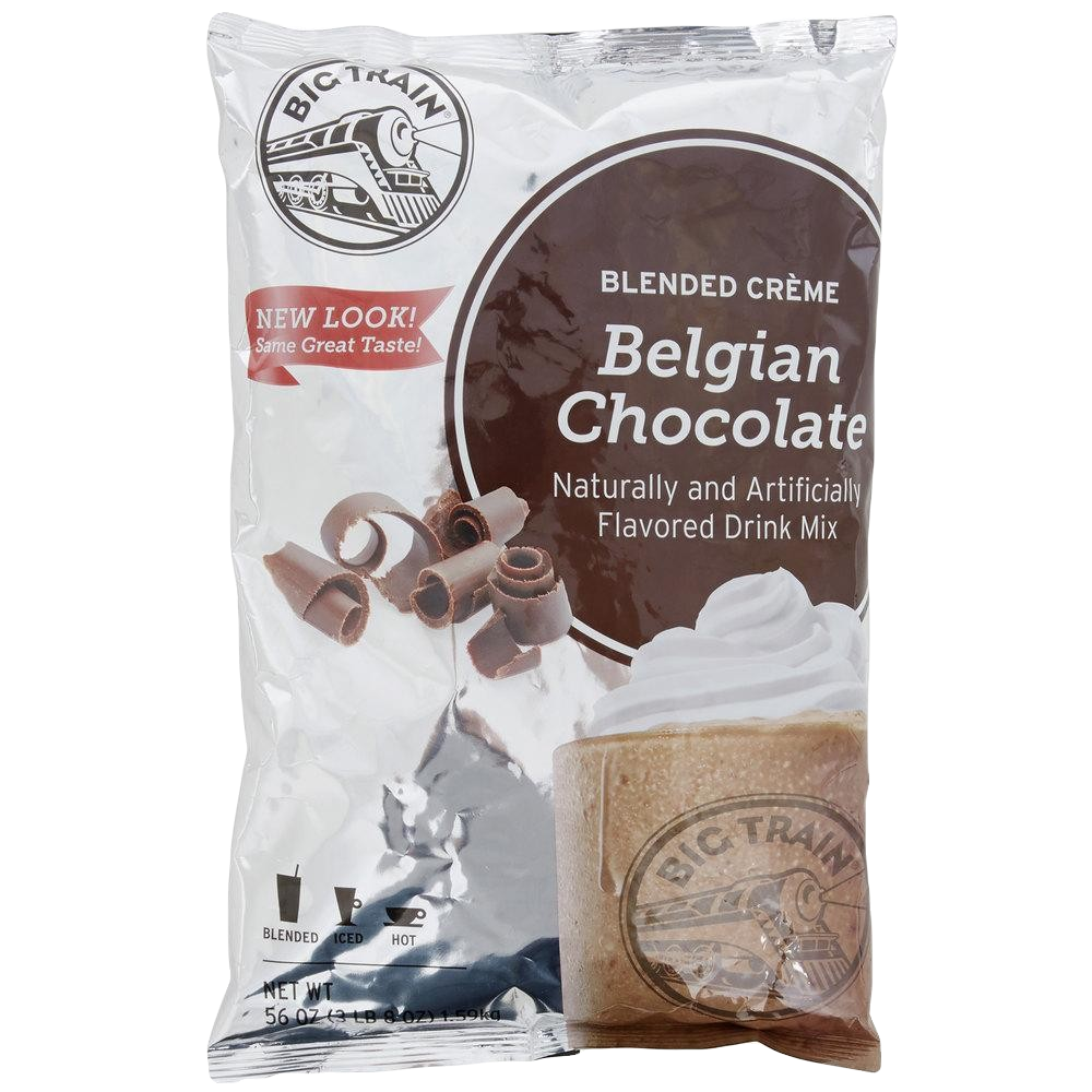 Big Train Belgian Chocolate Blended Crème