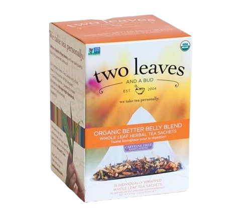 Two Leaves Better Belly Blend Tea Satchets