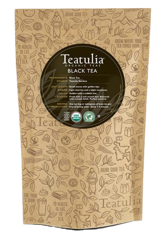 Teatulia Organic Black Tea Unwrapped