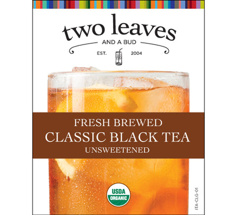 Two Leaves Classic Black Iced Tea