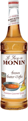 Monin Brown Butter Toffee Syrup