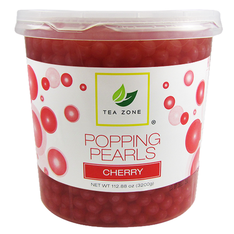 Tea Zone Cherry Popping Boba