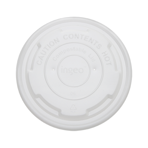 Compostable Cold/Hot Food Container Lid