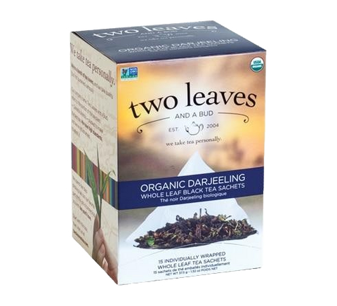 Two Leaves Organic Darjeeling Tea Sachets