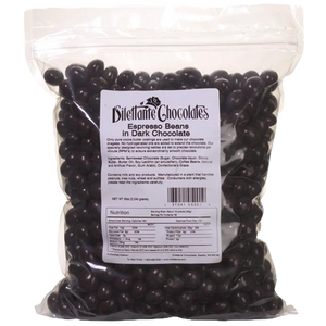 Dilettante Chocolates Dark Chocolate Espresso Beans