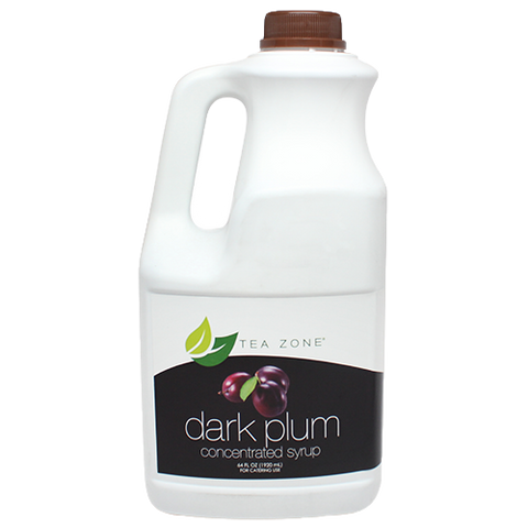 Tea Zone Dark Plum Syrup