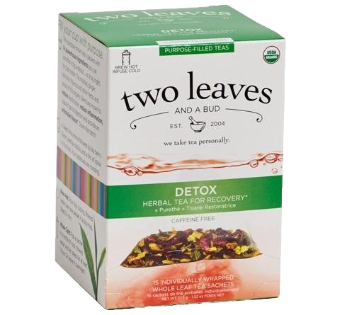 Two Leaves Detox Purpose-Filled Tea