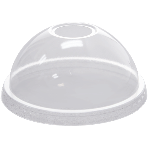 Clear Recyclable Dome/Flat Cold Lids