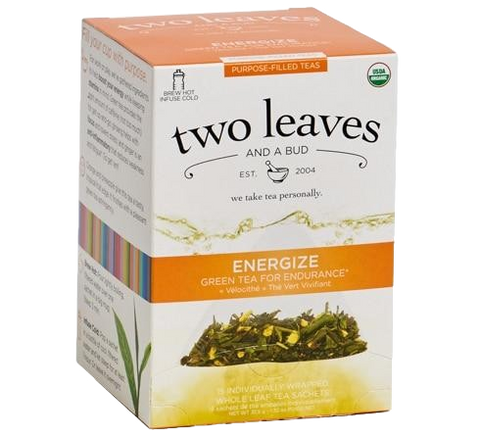 Two Leaves Energize Purpose-Filled Tea
