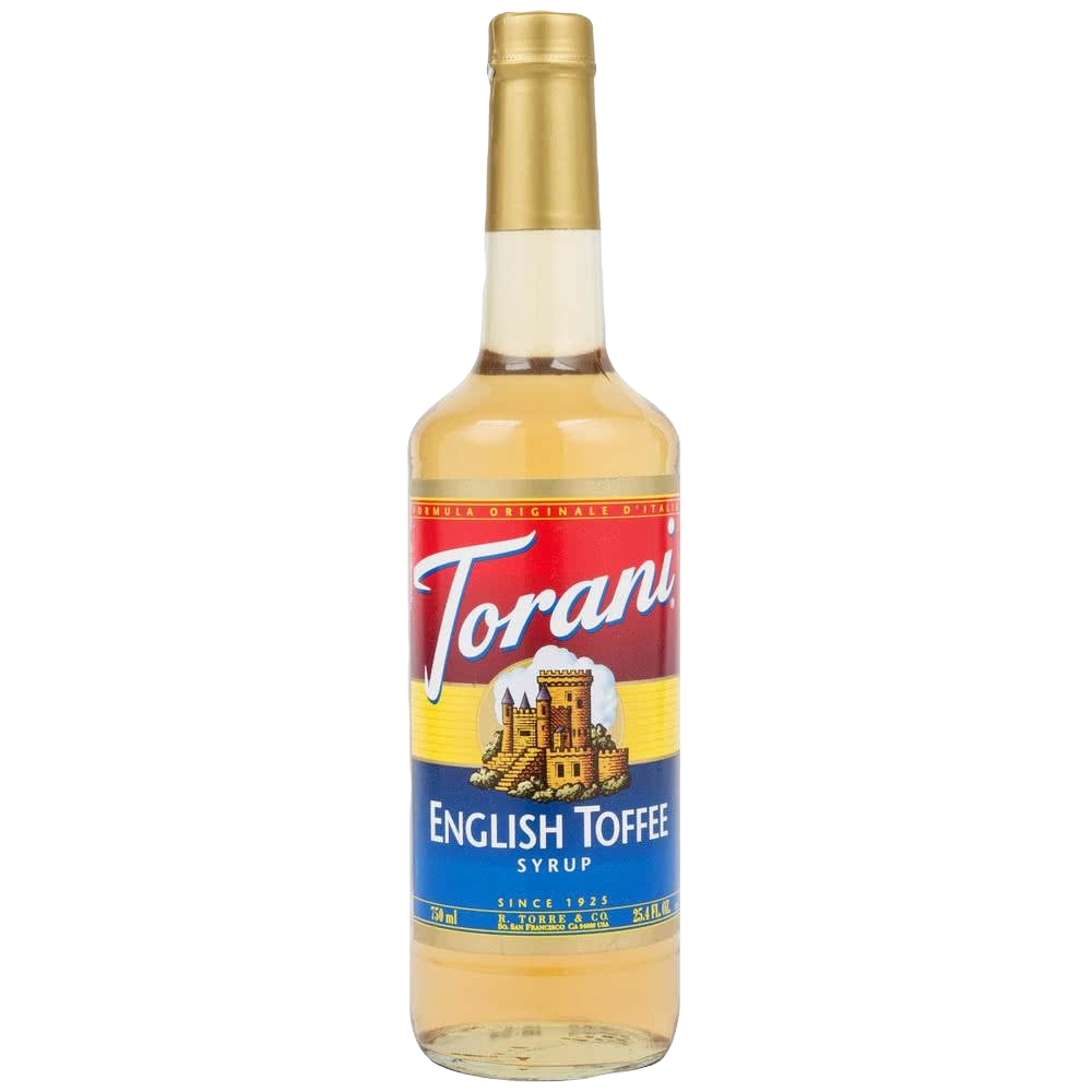 Torani English Toffee Syrup