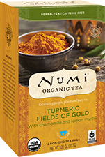 Numi Fields of Gold Turmeric Tea