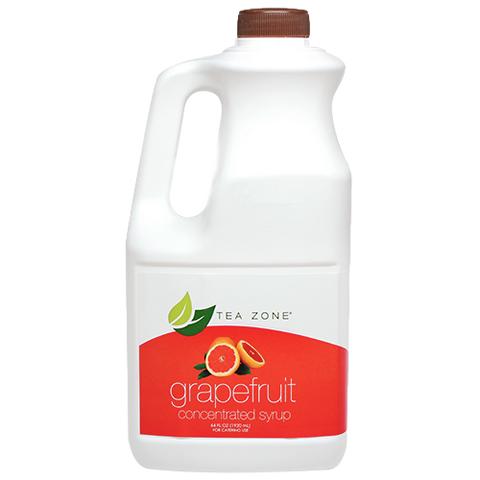 Tea Zone Grapefruit Syrup