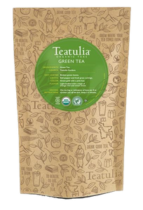 Teatulia Organic Green Tea Unwrapped
