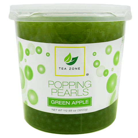 Tea Zone Green Apple Popping Boba