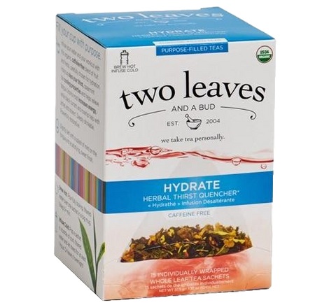 Two Leaves Hydrate Purpose-Filled Tea