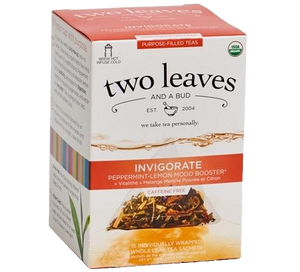 Two Leaves Invigorate Purpose-Filled Tea