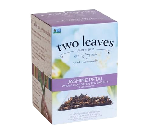 Two Leaves Jasmine Petal Green Tea Sachets