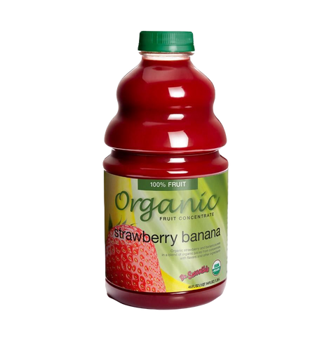 Dr. Smoothie Organic Strawberry Banana Smoothie