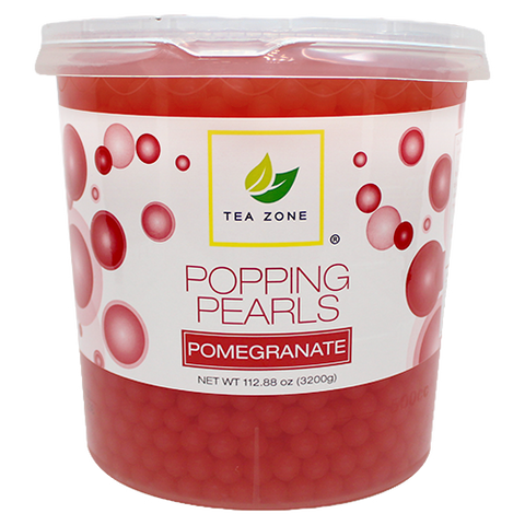 Tea Zone Pomegranate Popping Boba