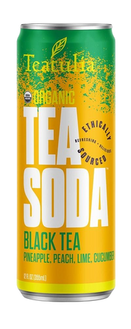 Teatulia Black Tea Soda