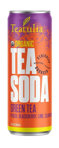 Teatulia Green Tea Soda