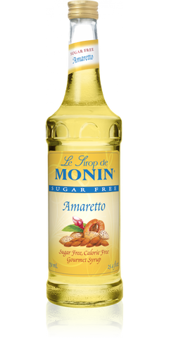 Monin Amaretto Sugar Free Syrup