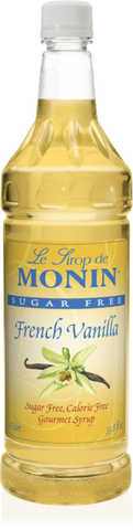 Monin French Vanilla Sugar Free
