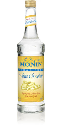 Monin White Chocolate Sugar Free Syrup
