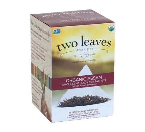 Two Leaves Organic Assam Tea Sachets