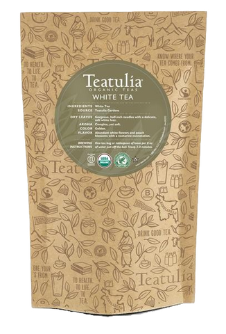 Teatulia Organic White Tea Unwrapped
