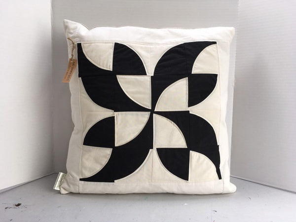 "Organic Cotton and Linen Decorative Throw Pillow 20"" x 20"""