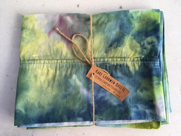 Ice Dyed Pillow Case #002