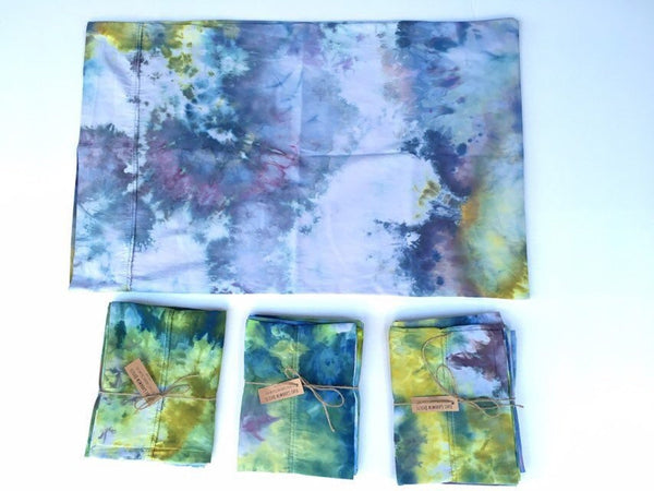 Ice Dyed Pillow Case #004