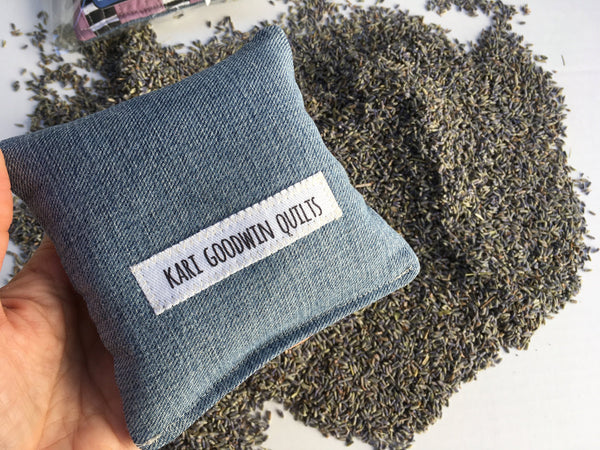 Organic Lavender Sachets, Aromatherapy for Travel