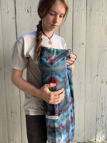 Ice Dyed Yoga Mat Bag #002