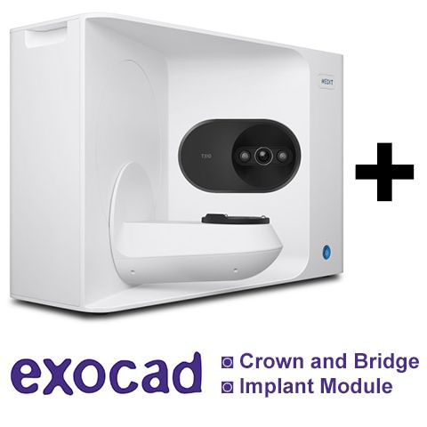 Medit T310 Desktop Scanner with Exocad