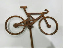 Rusty Bicycle Stake