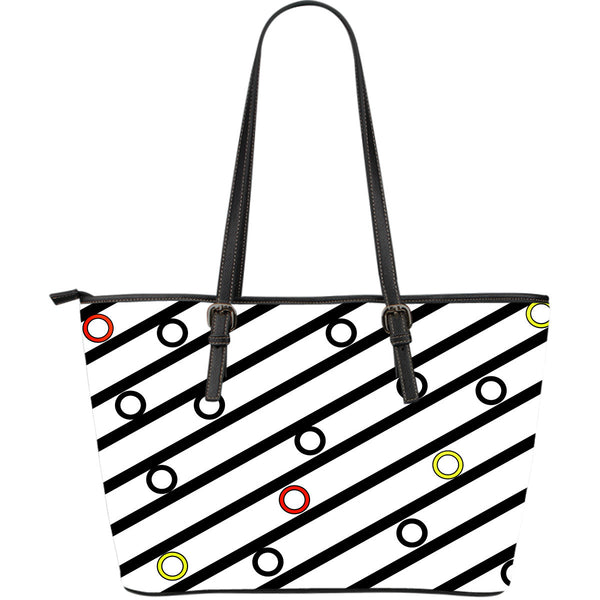 Abstract Leather Tote | Epic Palm
