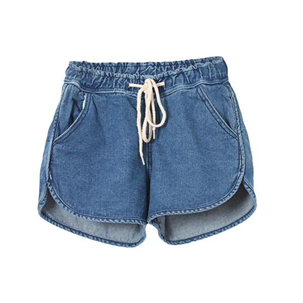 Drawstring Denim Shorts | Epic Palm