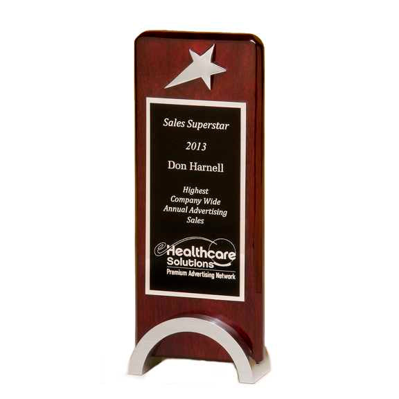 Rosewood Piano Finish Star Award