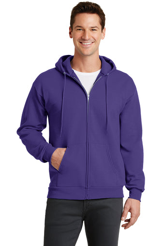 Port & Company® -  Full-Zip Hooded Sweatshirt