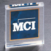 Marble Square Acrylic Paper Weight - A6375 Series