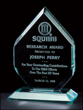 Polished Diamond Acrylic Award - A6406 Series