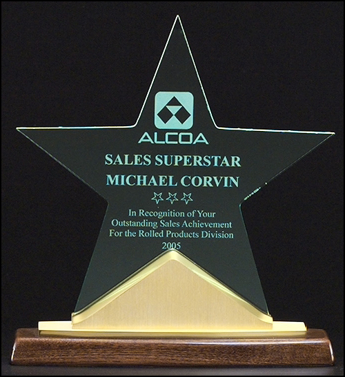 Constellation Star Acrylic Award