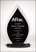 Flame Series Acrylic Award  - A6857 Series