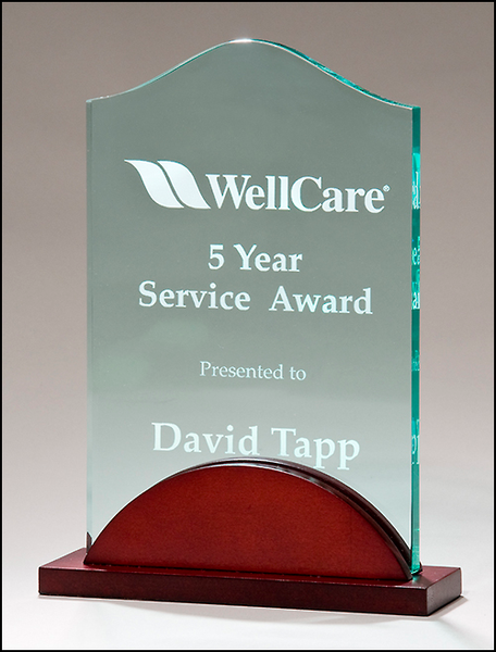 Tidal Series Acrylic Award - A6916 Series