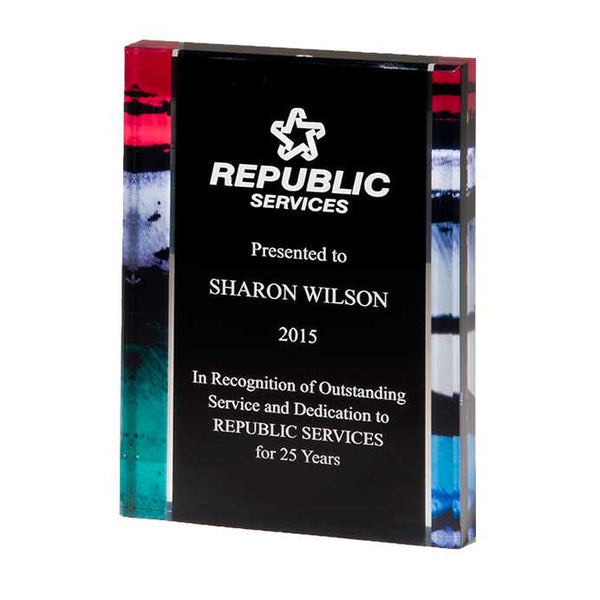 Digitally Printed Freestanding Award - A7035 Series
